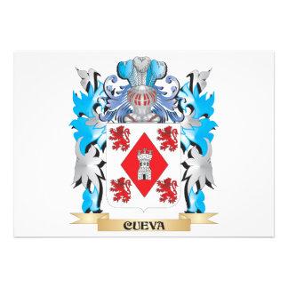 Escudo de armas de Cueva - escudo de la familia
