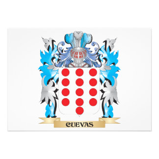 Escudo de armas de Cuevas - escudo de la familia