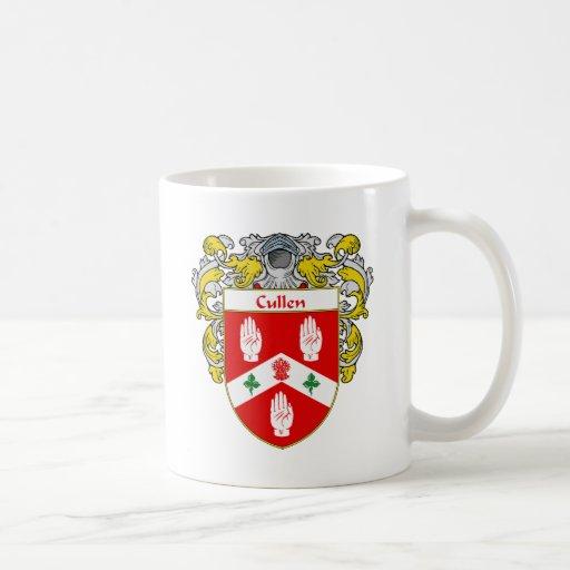 Escudo de armas de Cullen (cubierto) Taza De Café