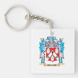 Escudo de armas de Cullen - escudo de la familia Llavero Cuadrado Acrílico A Una Cara