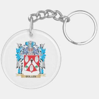 Escudo de armas de Cullen - escudo de la familia Llavero Redondo Acrílico A Doble Cara