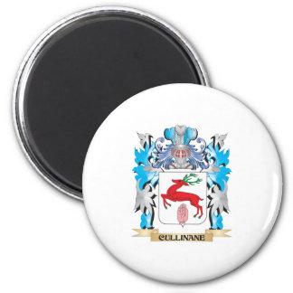 Escudo de armas de Cullinane - escudo de la famili Imán De Frigorífico