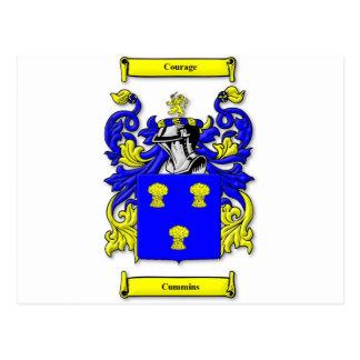Escudo de armas de Cummins Postal