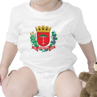 Escudo de armas de Curitiba Traje De Bebé