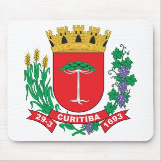 Escudo de armas de Curitiba Alfombrilla De Raton