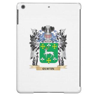 Escudo de armas de Curtin - escudo de la familia Funda Para iPad Air