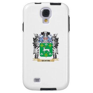 Escudo de armas de Curtin - escudo de la familia Funda Para Galaxy S4