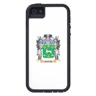 Escudo de armas de Curtin - escudo de la familia iPhone 5 Funda