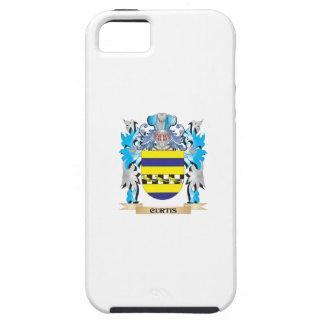 Escudo de armas de Curtis - escudo de la familia iPhone 5 Protectores