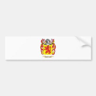 Escudo de armas de Curtius Pegatina Para Auto