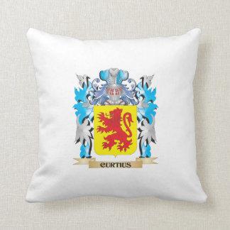 Escudo de armas de Curtius - escudo de la familia Cojines