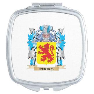 Escudo de armas de Curtius - escudo de la familia Espejo De Maquillaje