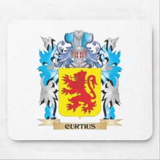Escudo de armas de Curtius - escudo de la familia Alfombrillas De Ratón