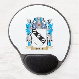 Escudo de armas de Cutts - escudo de la familia Alfombrilla De Raton Con Gel