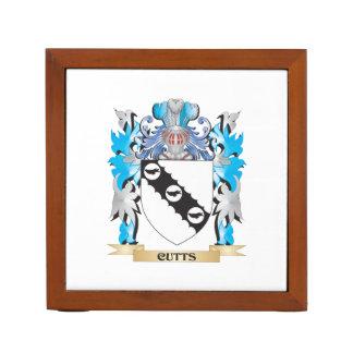 Escudo de armas de Cutts - escudo de la familia