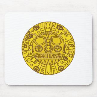 Escudo de armas de Cuzco Alfombrillas De Ratón