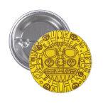 Escudo de armas de Cuzco Pin Redondo De 1 Pulgada