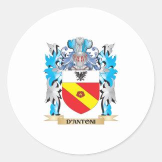 Escudo de armas de D Antoni - escudo de la familia