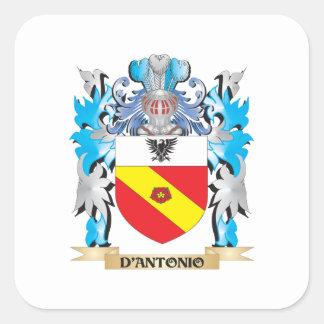 Escudo de armas de D Antonio - escudo de la famili