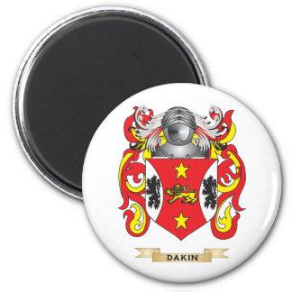 Escudo de armas de Dakin Imán Redondo 5 Cm