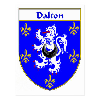 Escudo de armas de Dalton/escudo de la familia Postal