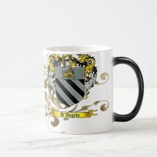 Escudo de armas de D'Angelo Tazas De Café