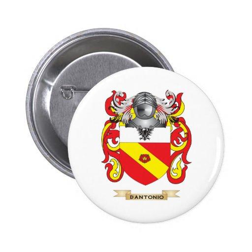 Escudo de armas de D'Antonio Pin Redondo 5 Cm