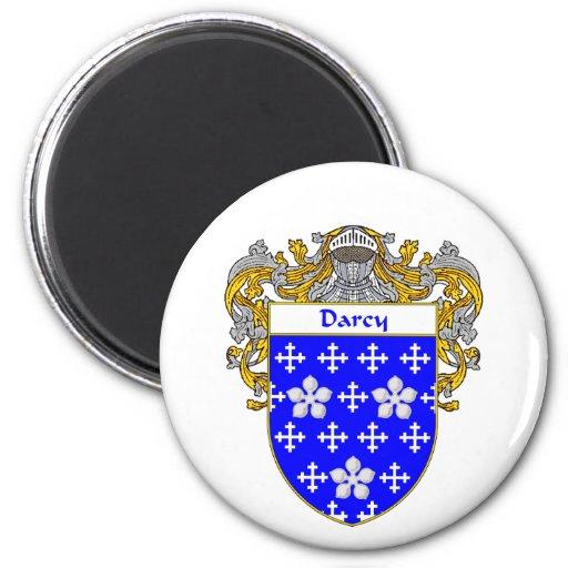 Escudo de armas de Darcy (cubierto) Imán