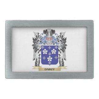 Escudo de armas de Darcy - escudo de la familia Hebilla Cinturon Rectangular