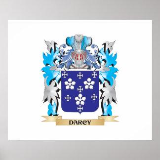 Escudo de armas de Darcy - escudo de la familia