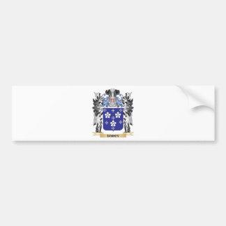 Escudo de armas de Darcy - escudo de la familia Pegatina Para Auto