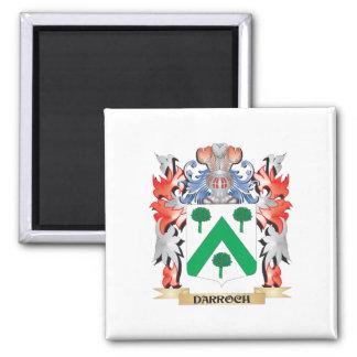 Escudo de armas de Darroch - escudo de la familia Imán Cuadrado