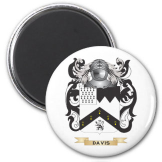 Escudo de armas de Davis 2 Iman De Nevera