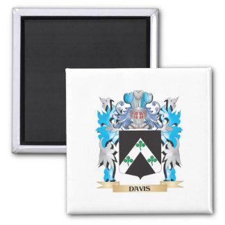 Escudo de armas de Davis - escudo de la familia Iman De Nevera
