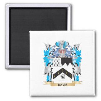 Escudo de armas de Davis - escudo de la familia Imán De Nevera