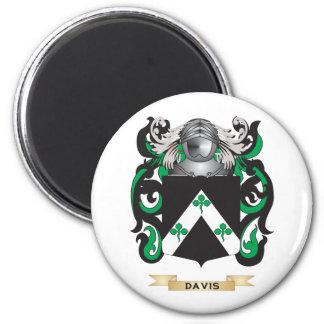 Escudo de armas de Davis Imán Para Frigorifico