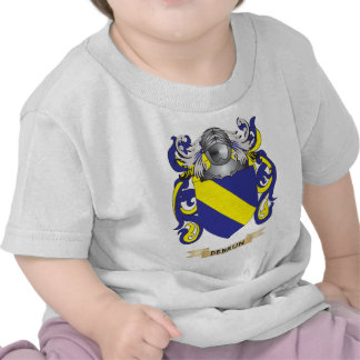 Escudo de armas de De Brun Camisetas