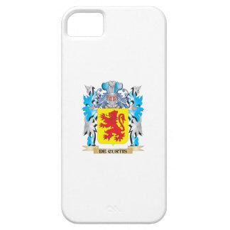 Escudo de armas de De-Curtis - escudo de la famili iPhone 5 Case-Mate Protector