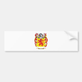 Escudo de armas de De La Cour Pegatina Para Auto
