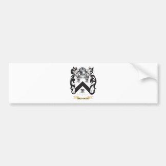 Escudo de armas de De la Salle Pegatina Para Auto