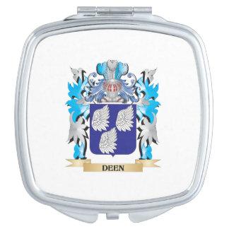 Escudo de armas de Deen - escudo de la familia Espejo Maquillaje
