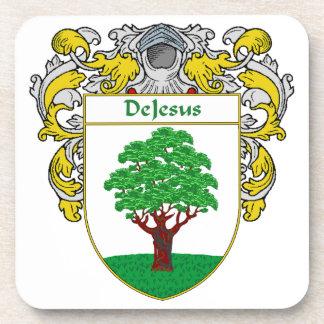 Escudo de armas de DeJesus/escudo de la familia Posavasos