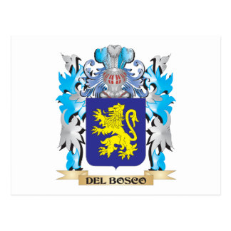 Escudo de armas de Del-Bosco - escudo de la Tarjetas Postales
