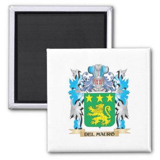 Escudo de armas de Del-Mauro - escudo de la famili Imán De Nevera