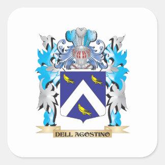 Escudo de armas de Dell-Agustín - escudo de la fam