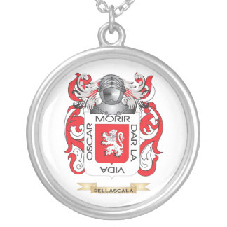 Escudo de armas de Della Scala Colgante Redondo