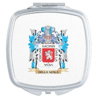 Escudo de armas de Della-Scala - escudo de la fami Espejo De Maquillaje