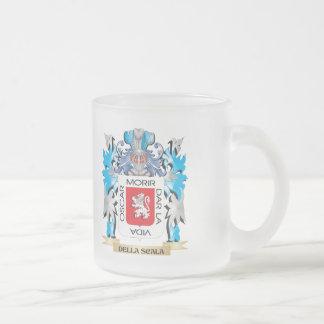 Escudo de armas de Della-Scala - escudo de la Taza Cristal Mate