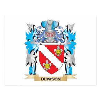Escudo de armas de Denison - escudo de la familia