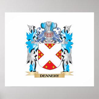 Escudo de armas de Dennehy - escudo de la familia